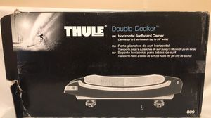 Thule 809 double decker surfboard/sup rooftop carrier for Sale in Phoenix, AZ
