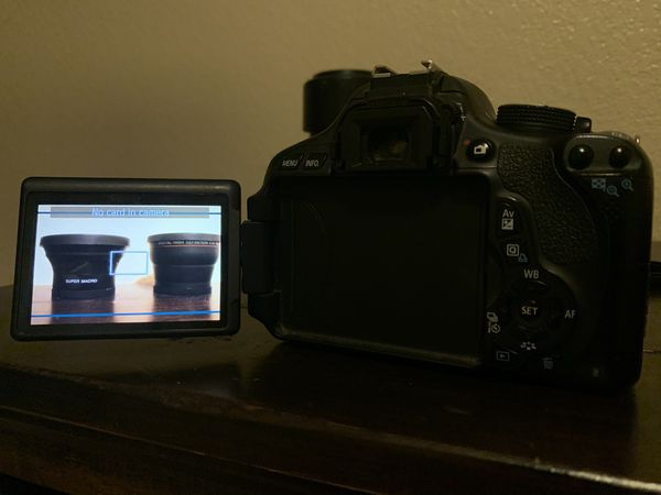 Canon Rebel T3i digital camera HD BUNDLE