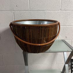 Large Bamboo Designer Basket for Sale in Los Angeles,  CA