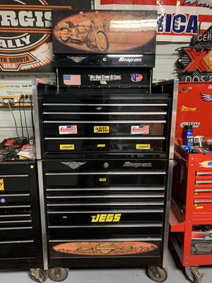 Snap On Harley Davidson Tool Box for Sale in Adkins, TX