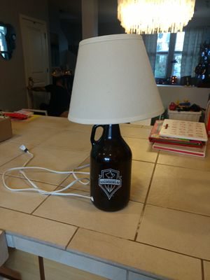 Sounders FC growler lamp for Sale in Seattle, WA