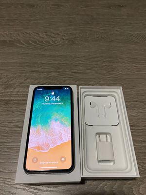 iPhone X T-Mobile (UNLOCKED) 64 GB for Sale in Pasadena, CA