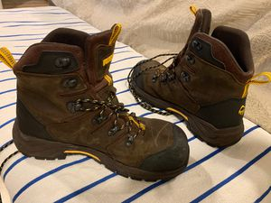 Wolverine work boots size 10 barely used bought wrong size. for Sale in Fort Lauderdale, FL