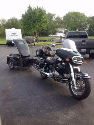 1999 Honda Valkyrie Interstate Motorcycle and Bushtec Roadstar trailer for Sale in Stevensville, MD