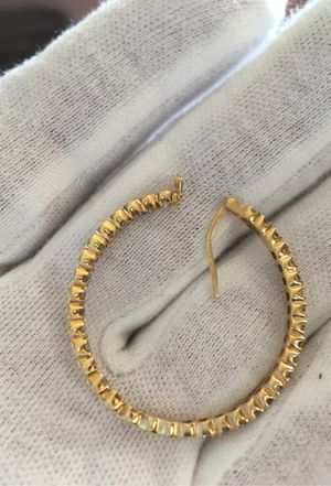 14k diamond hoop earring just # 1 for Sale in Glendora, CA