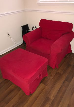 Chair & ottoman for Sale in Rockville, MD