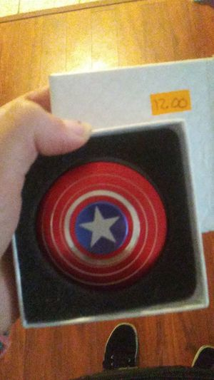 Captain America fidget spinner for Sale in Pasadena, TX