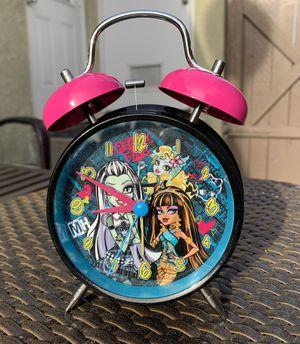 Black Pink Girl Alarm Clock for Sale in Los Angeles, CA