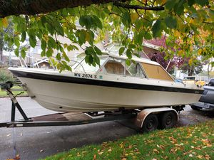 1970 REN PIGPR BOAT AND TRAILER for Sale in Tacoma, WA