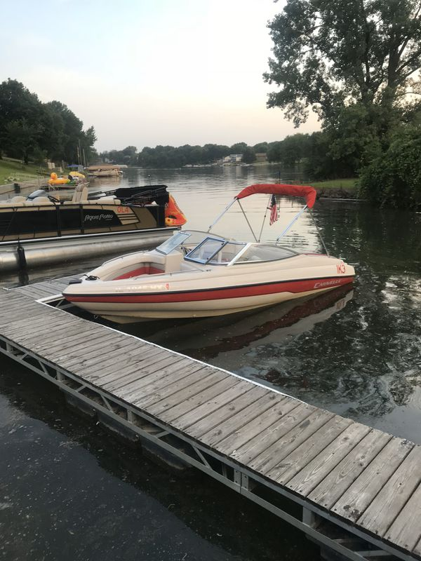 1995 caravelle fish and ski combo