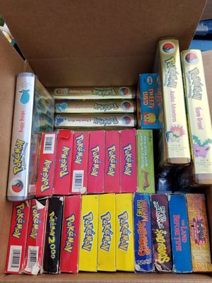 Pokemon vhs for Sale in Tacoma, WA