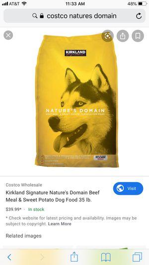 Costco/Kirkland Dog Food for Sale in Queen Creek, AZ