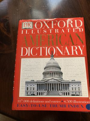 Classic oxford Illustrated American dictionary for Sale in Edison, NJ