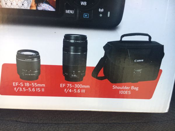 Canon Lenses and bag