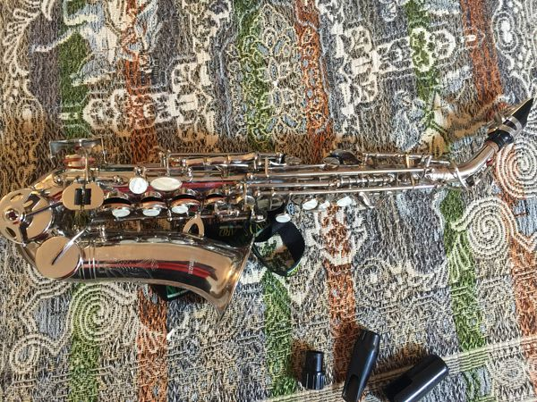 Very small baby soprano saxophone by Selmer in excellent condition.