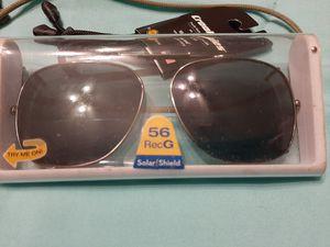 Clip on sunglasses shades and glasses cord for Sale in La Porte, TX