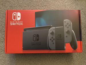 Brand new Nintendo Switch Console Gray for Sale in Arlington, VA