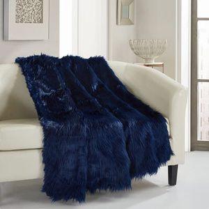 Navy Ruffa Throw Blanket for Sale in Anaheim, CA