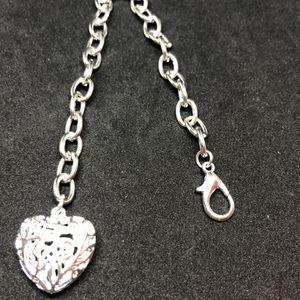 Sterling Silver Tiffany Style Puffy Heart Bracelet for Sale in Shelton, CT