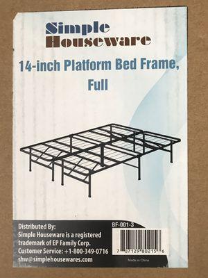Full size Bed frame for Sale in Kaneohe, HI