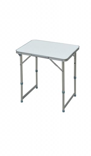 "23"" Aluminum Lightweight Portable Folding Easy Clean Camping Table With Carrying Table And Height Adjustability for Sale in Alpharetta, GA"