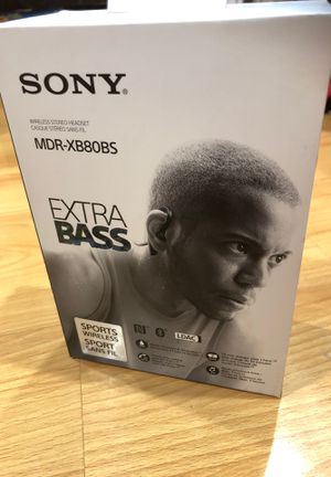 Sony mdr-xb80bs extra bass wireless headphone for Sale in South El Monte, CA