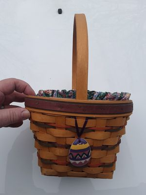 Longaberger Easter basket 1996 for Sale in Akron, OH