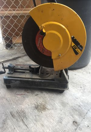 Abrasive cut off saw for Sale in Los Angeles, CA