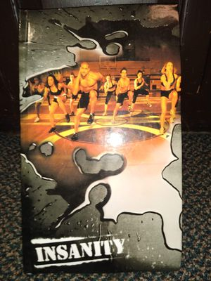 Insanity workout dvd exercise system for Sale in Erie, PA