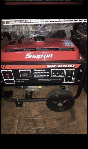 Snap on 3000-3500 watt generator for Sale in Happy Valley, OR