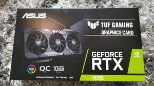 RTX 3080 ASUS TUF Triple Fan GPU for Sale in Houston, TX