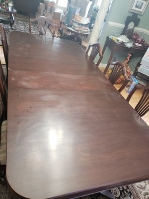 Large Antique Dining Table for Sale in Martinsburg, WV