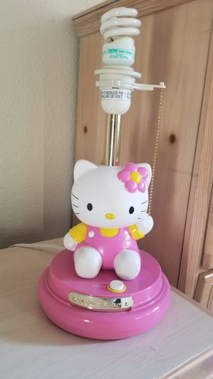 Hello Kitty lamp. Cute! for Sale in Issaquah, WA