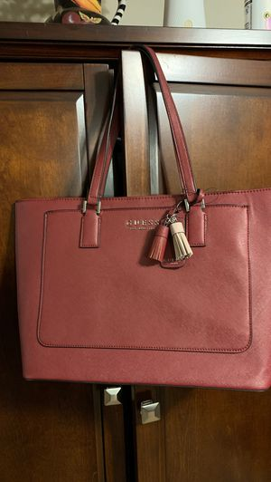 Leather tote bag, by GUESS for Sale in Lanham, MD