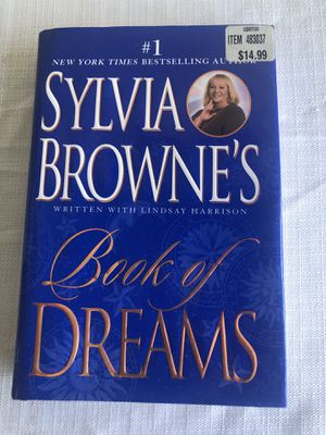 Autographed Sylvia Brown's book of dreams for Sale in San Jose, CA