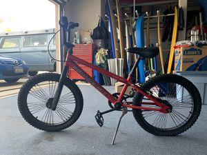Kids Diamondback jr. viper BMX bike with helmet for Sale in Carlsbad, CA