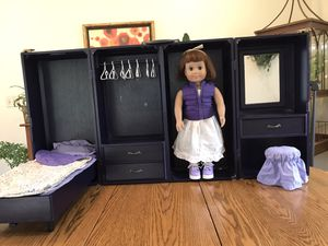 American Girl Doll 3 in 1 (dresser, bed, doll storage) for Sale in Independence, OH
