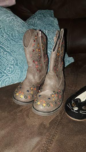 Roper infant girl boots for Sale in Weslaco, TX