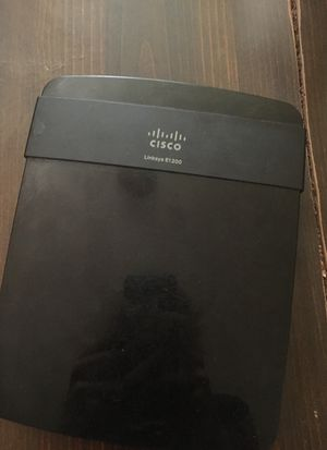 Cisco Linksys E1200 Wireless Router for Sale in Milan, IL