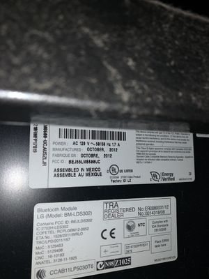 LG 55 inch HDTV for Sale in CA, US