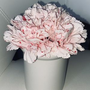 Artificial Potted Carnation Flower Plant for Sale in Sacramento, CA