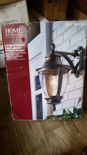 Home decorators large wall lantern for Sale in South Gate, CA