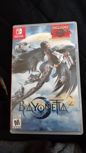 Bayonetta 2 Nintendo switch for Sale in Pittsburgh, PA