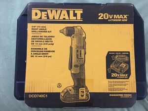 Dewalt right angle drill/driver kit *new* for Sale in Germantown, MD