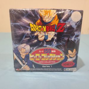 Dragonball Z Hero Collection Series 1 Booster Box ARTBOX FUNIMATION for Sale in Medford, NJ
