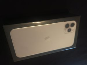 Apple iPhone 11 pro Max 256 GB Silver Brand New Unlocked with proof of purchase receipt paid full price for Sale in Fremont, CA