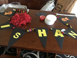 Mickey Mouse birthday decorations for Sale in Ashburn, VA