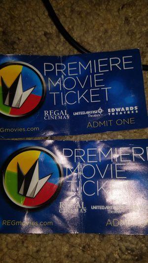 Regal tickets for Sale in Huntington Beach, CA