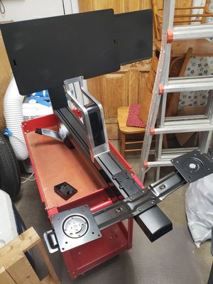 Ergotron dual monitor sit stand for Sale in Eugene, OR