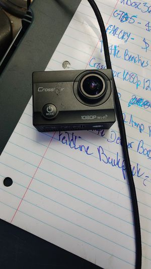 Crosstour 1080p 12mp wifi action camera for Sale in Concord, VA